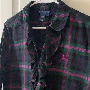 Ralph Lauren Plaid Flannel Tunic